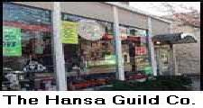 THE HANSA GUILD SHOP and STORE where you can physically go in and buy your moccasin shoes, slippers, and ugg-pug boots, shearlings, leather and wool-felt hats, and sheepskin moccasins and rugs.  Call us and we will ship your SHEEPSKIN moccasins anywhere in the USA, European Union, and most countries in the world